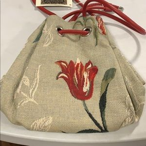 Dutch Tapestries Bags - Rijksmuseum Amsterdam Tulip Tapestry Bag NWT